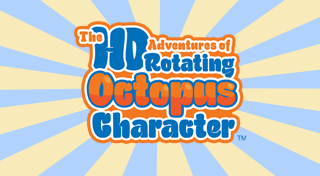The HD Adventures of Rotating Octopus Character