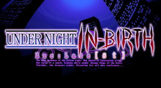 Under Night In-Birth Exe : Late{st}